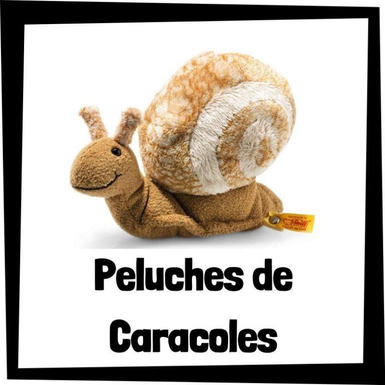 Los mejores peluches de caracoles