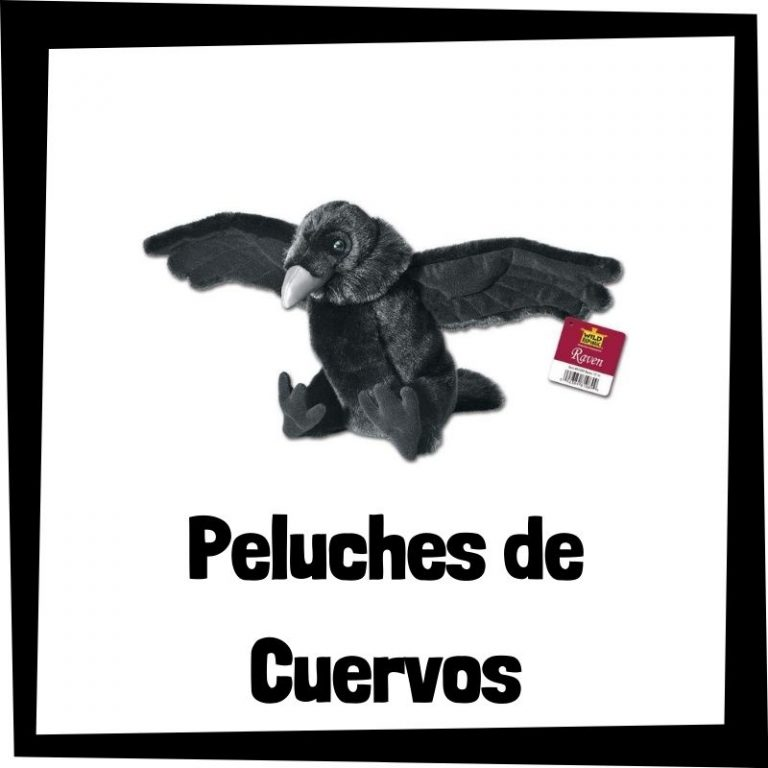 Los mejores peluches de cuervos