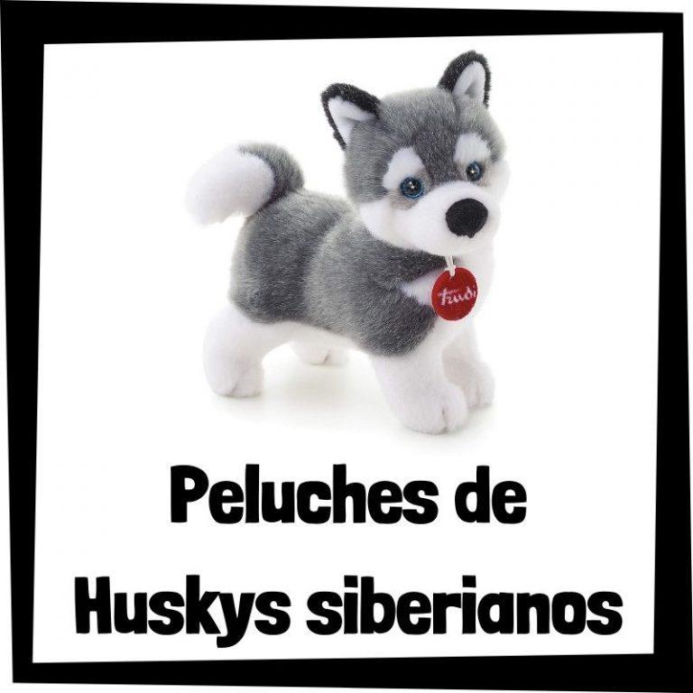 Los mejores peluches de huskys siberianos