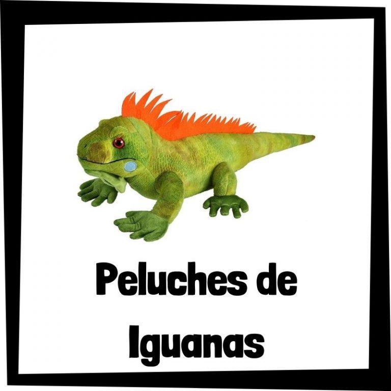 Los mejores peluches de iguanas