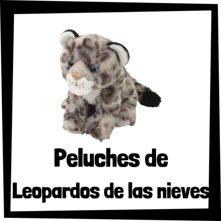 Los mejores peluches de leopardos de las nieves