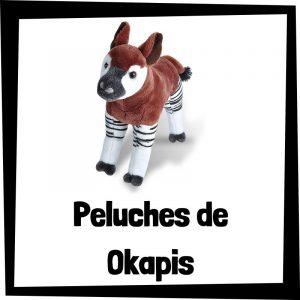 Los mejores peluches de okapis