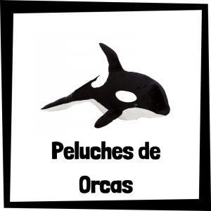 Peluches baratos de orcas - Los mejores peluches de ballenas - Peluche de ballena barato de felpa
