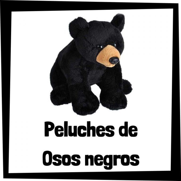 Lee más sobre el artículo Los mejores peluches de osos negros