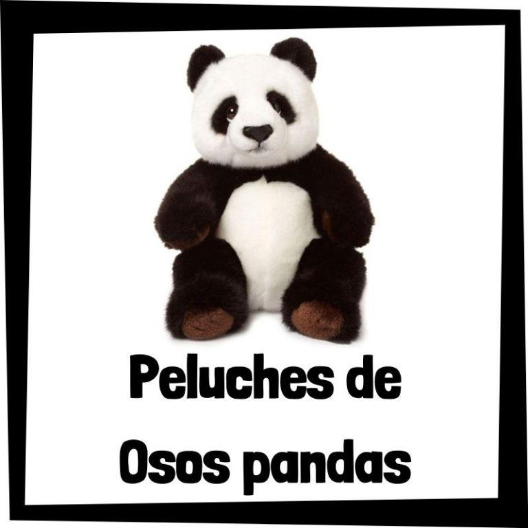 Los mejores peluches de osos pandas