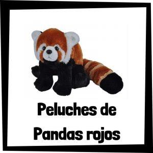 Los mejores peluches de pandas rojos