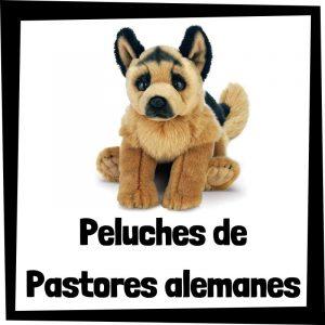 Peluches baratos de pastores alemanes - Los mejores peluches de perros - Peluche de Pastor aleman barato de felpa