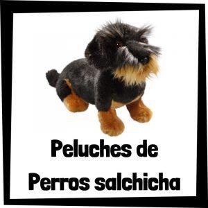 Peluches baratos de perros salchicha - Los mejores peluches de perros - Peluche de perro salchicha barato de felpa