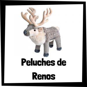 Peluches baratos de renos - Los mejores peluches de Sven de Frozen - Peluche de reno barato de felpa