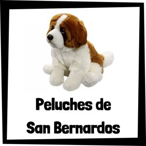 Peluches baratos de san bernardos - Los mejores peluches de perros - Peluche de San Bernardo barato de felpa