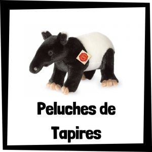 Los mejores peluches de tapires