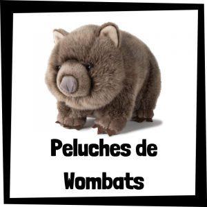 Los mejores peluches de wombats