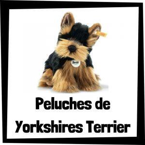 Peluches baratos de yorkshires terrier - Los mejores peluches de perros - Peluche de Yorkshire barato de felpa