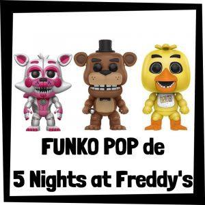 FUNKO POP baratos de 5 Nights at Freddys - Los mejores peluches de 5 Nights at Freddys - Peluche de videojuego de 5 Nights barato de felpa