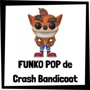 FUNKO POP baratos de Crash Bandicoot - Los mejores peluches de Crash Bandicoot - Peluche de Crash Bandicoot barato de felpa