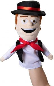 Marioneta de peluche de Zenón de la Granja de Zenón de 26 cm - Los mejores peluches de la granja de Zenón