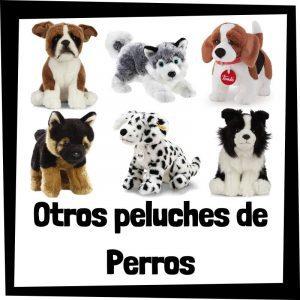 Otros peluches baratos de perros - Los mejores peluches de razas de perros - Peluche de perro barato de felpa