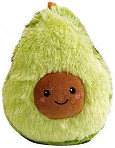 Peluche de Aguacate de 40 cm clásico - Los mejores peluches de aguacates - Peluches de frutas y verduras