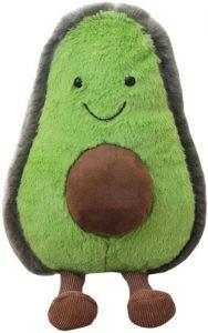 Peluche de Aguacate de 45 cm 2 - Los mejores peluches de aguacates - Peluches de frutas y verduras