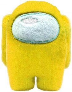 Peluche de Among Us amarillo de 10 cm - Los mejores peluches de Among Us - Peluches de personaje de Among Us
