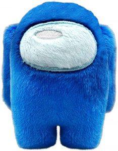 Peluche de Among Us azul de 10 cm - Los mejores peluches de Among Us - Peluches de personaje de Among Us