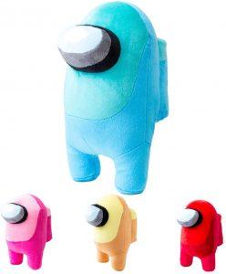 Peluche de Among Us azul de 20 cm - Los mejores peluches de Among Us - Peluches de personaje de Among Us