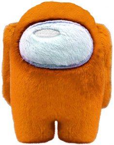 Peluche de Among Us naranja de 10 cm - Los mejores peluches de Among Us - Peluches de personaje de Among Us