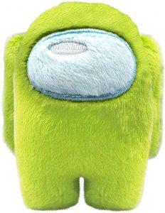 Peluche de Among Us verde de 10 cm - Los mejores peluches de Among Us - Peluches de personaje de Among Us
