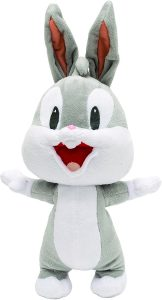 Peluche de Baby Bugs Bunny de 30 cm - Los mejores peluches de Bugs Bunny de los Looney Tunes - Peluches de dibujos animados