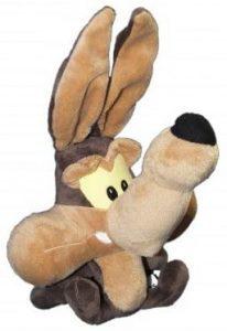 Peluche de Baby Coyote de 32 cm - Los mejores peluches del Coyote de los Looney Tunes - Peluches de dibujos animados
