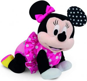 Peluche de Baby Minnie Gateos de Clementoni de 51 cm - Los mejores peluches de Minnie Mouse - Peluches de Disney