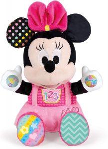 Peluche de Baby Minnie Mouse de Clementoni de 36 cm 2 - Los mejores peluches de Minnie Mouse - Peluches de Disney