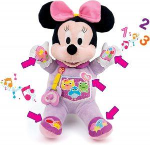 Peluche de Baby Minnie Mouse de Clementoni de 36 cm - Los mejores peluches de Minnie Mouse - Peluches de Disney