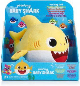 Peluche de Baby Shark de 28 cm - Los mejores peluches de Baby Shark - Peluches de personajes de Baby Shark