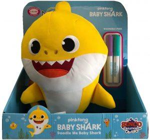 Peluche de Baby Shark de 30 cm - Los mejores peluches de Baby Shark - Peluches de personajes de Baby Shark