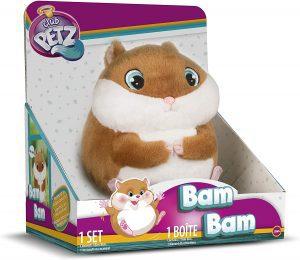Peluche de Bam Bam Hamster - Los mejores peluches de Club Petz - Peluches de animales de Club Petz