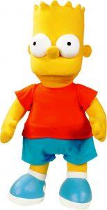 Peluche de Bart Simpson de 80 cm - Los mejores peluches de los Simpsons - Peluches de series de dibujos animados