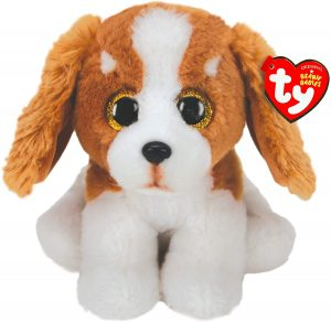 Peluche de Basset Hound de 15 cm de Ty - Los mejores peluches de Basset Hounds - Peluches de perros