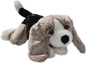Peluche de Basset Hound de 22 cm de Carl Dick - Los mejores peluches de Basset Hounds - Peluches de perros