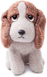 Peluche de Basset Hound de 24 cm de Aurora - Los mejores peluches de Basset Hounds - Peluches de perros
