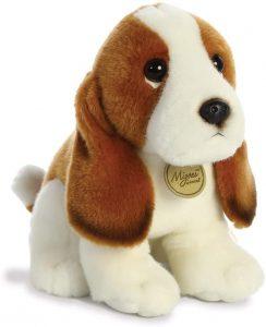 Peluche de Basset Hound de 28 cm de Aurora - Los mejores peluches de Basset Hounds - Peluches de perros