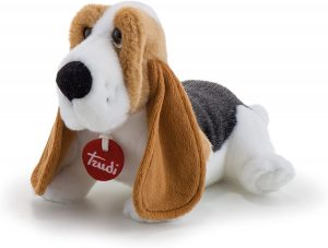 Peluche de Basset Hound de 30 cm de Trudi - Los mejores peluches de Basset Hounds - Peluches de perros