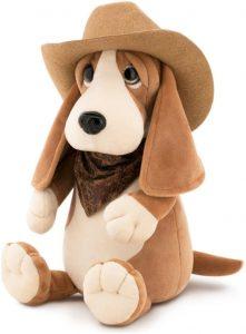 Peluche de Basset Hound de 36 cm de Orange Toys - Los mejores peluches de Basset Hounds - Peluches de perros