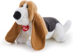 Peluche de Basset Hound de 42 cm de Trudi - Los mejores peluches de Basset Hounds - Peluches de perros