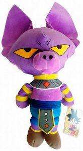 Peluche de Beerus de Dragon Ball Z de 25 cm - Los mejores peluches de Beerus de Dragon Ball Z - Peluches de Dragon Ball Z