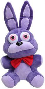 Peluche de Bonnie de 20 cm - Los mejores peluches de 5 Nights at Freddys - Peluches de videojuegos
