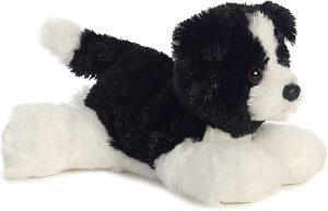 Peluche de Border Collie de 20 cm de Aurora - Los mejores peluches de border collies - Peluches de perros