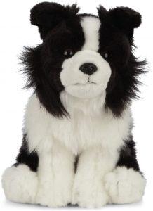 Peluche de Border Collie de 20 cm de Living Nature - Los mejores peluches de border collies - Peluches de perros
