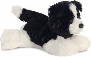 Peluche de Border Collie de 21 cm de Aurora - Los mejores peluches de border collies - Peluches de perros