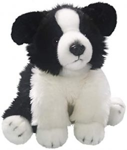 Peluche de Border Collie de 25 cm de Carl Dick - Los mejores peluches de border collies - Peluches de perros